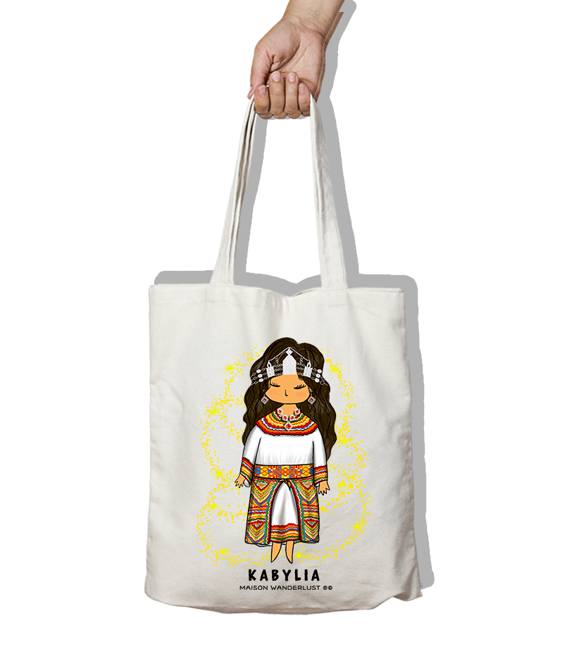 Tote bag - Tenue kabyle