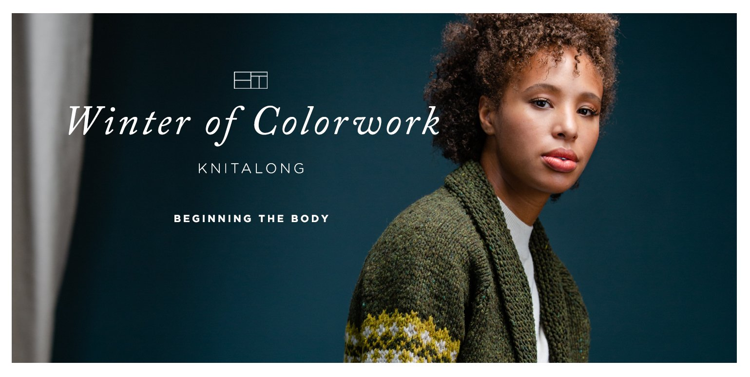 Winter of Colorwork KAL Part 4: Beginning the Body