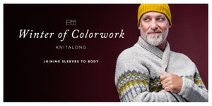 Winter of Colorwork KAL Part 5: Joining the Sleeves to the Body