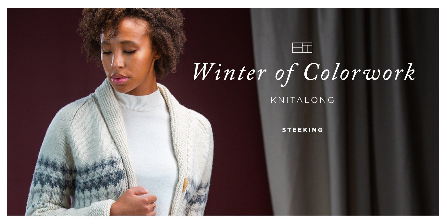 Winter of Colorwork KAL Part 6: Steeking