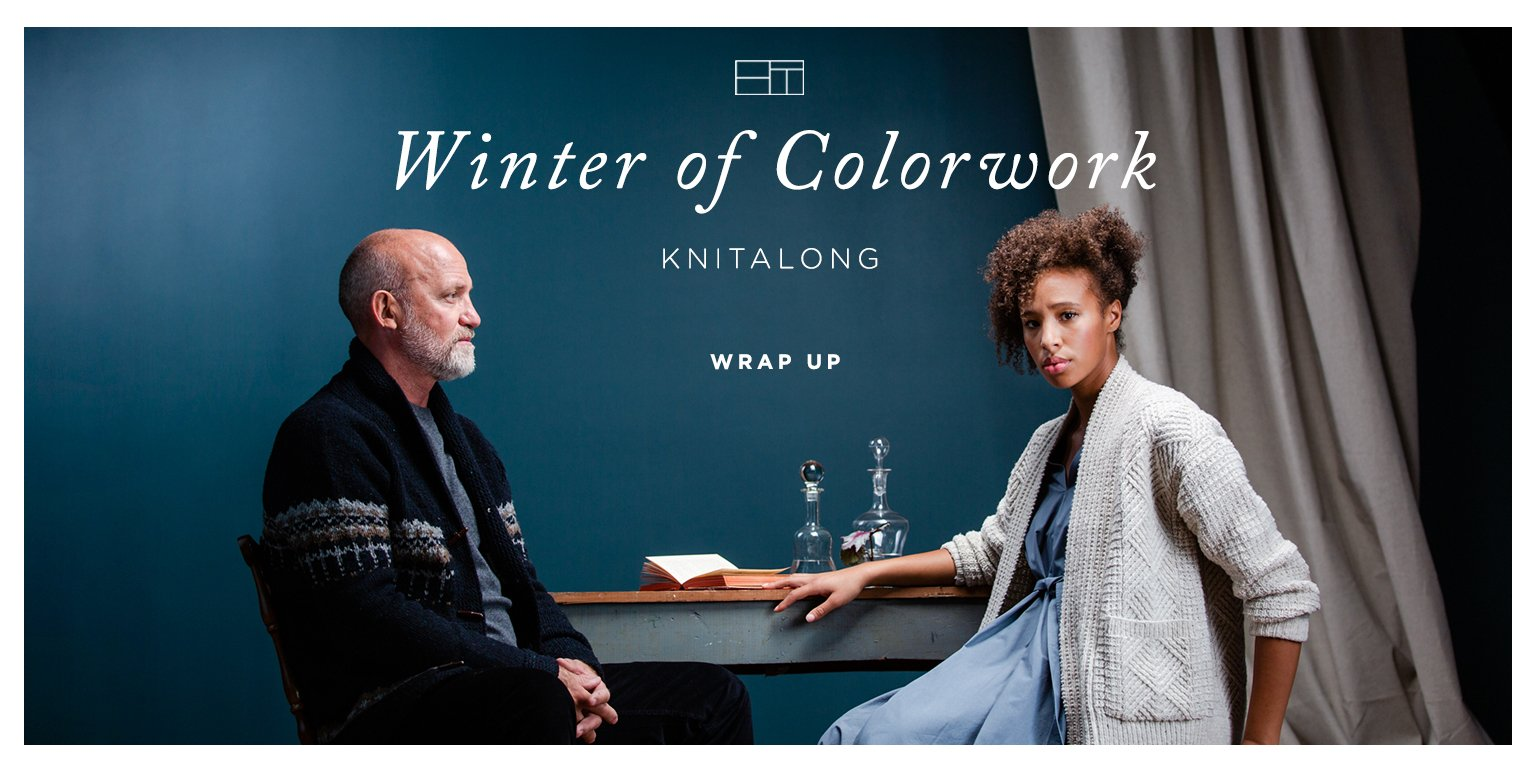 Winter of Colorwork KAL Wrap Up