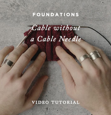 Foundations: Cable without a Cable Needle
