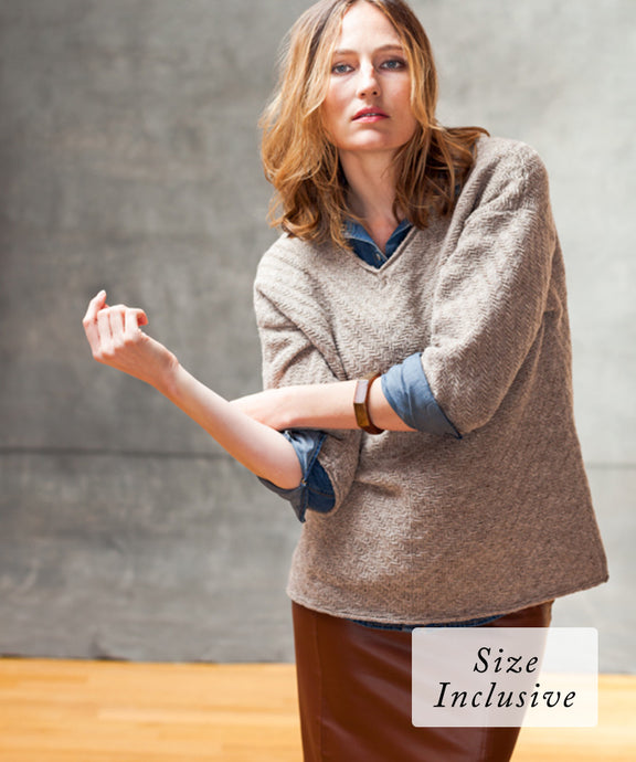 Abbott Pullover | Knitting Pattern by Michele Wang | Brooklyn Tweed