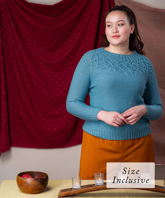Amabilis Pullover | Knitting Pattern by Irina Dmitrieva | Brooklyn Tweed
