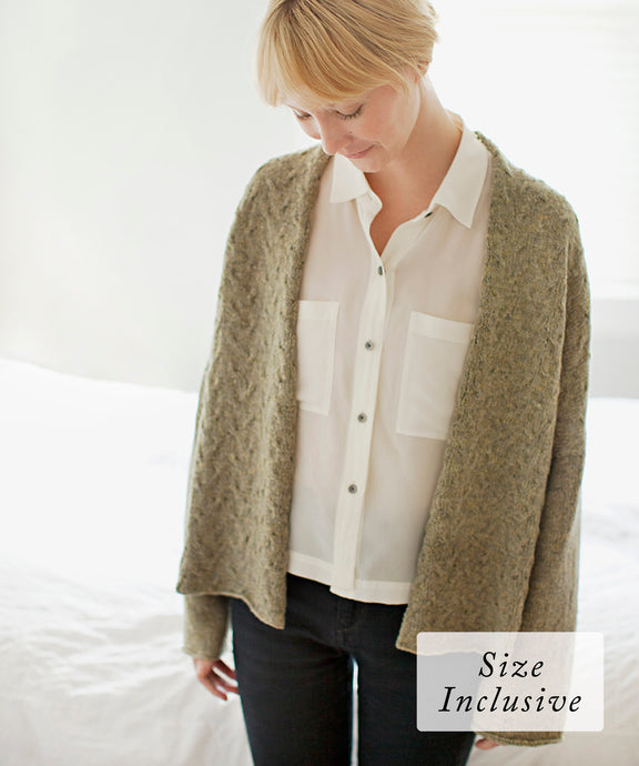 Ando Cardigan | Knitting Pattern by Yoko Hatta | Brooklyn Tweed