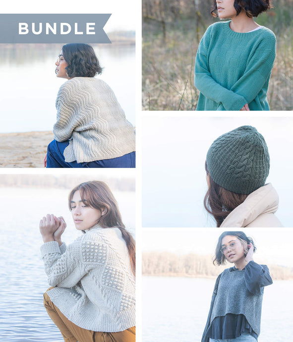 Pattern Bundle | Knitting Patterns from Water's Edge Collection | Brooklyn Tweed - COVER