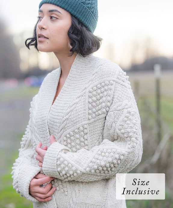 Balan Cardigan | Knitting Pattern by Emily Greene | Brooklyn Tweed