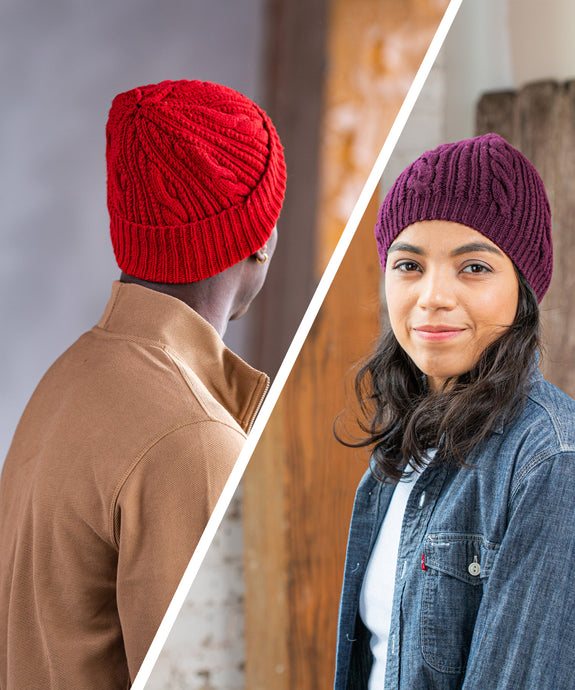 Bracque Hat | Knitting Pattern by Jared Flood | Brooklyn Tweed