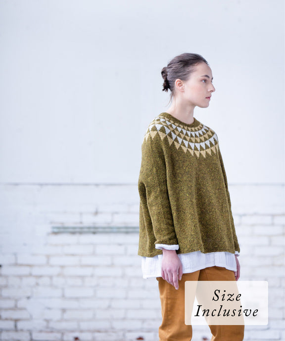 Bract Pullover | Knitting Pattern by Sarah Shepherd | Brooklyn Tweed