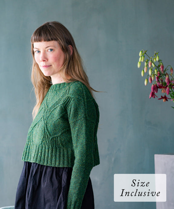 Broadleaf Pullover | Knitting Pattern by Norah Gaughan | Brooklyn Tweed