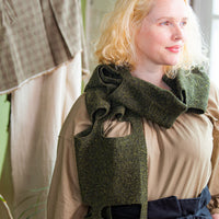 Calcarea Scarf | Knitting Pattern by Josée Paquin | Brooklyn Tweed