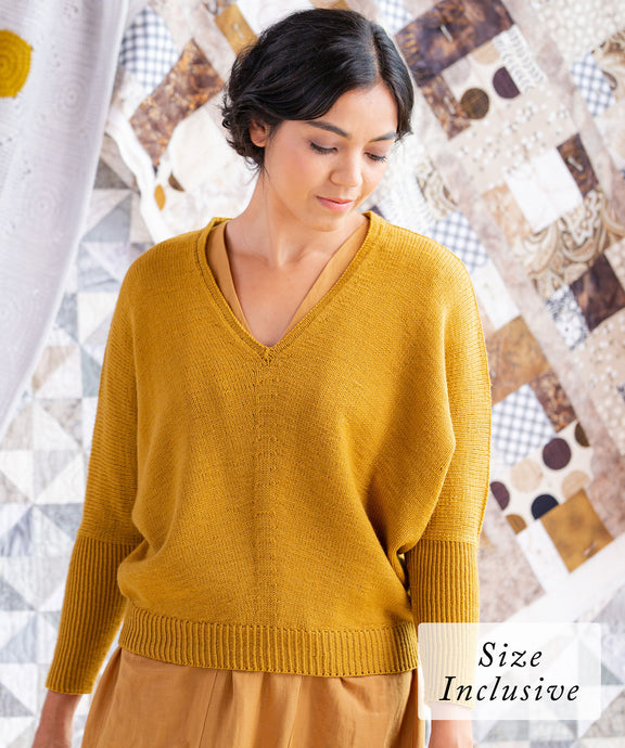 Chabot Sweater | Knitting Pattern by Alma Bali | Brooklyn Tweed
