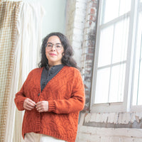 Decq Cardigan | Knitting Pattern by Irina Anikeeva | Brooklyn Tweed