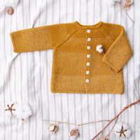 Ezra Baby Cardigan | Knitting Pattern by Jared Flood | BT by Brooklyn Tweed