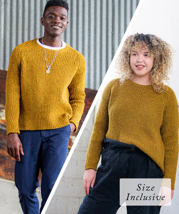 Fehling Sweater | Knitting Pattern by Emily Greene | Brooklyn Tweed