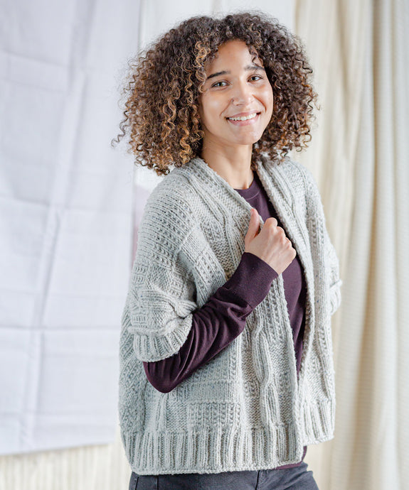 Ginsberg Cardigan | Knitting Pattern by Norah Gaughan | Brooklyn Tweed