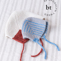 Gossy Baby Bonnet | Knitting Pattern by Jared Flood | BT by Brooklyn Tweed