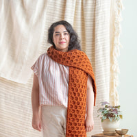 Hallidie Scarf | Knitting Pattern by Jennifer Brou | Brooklyn Tweed
