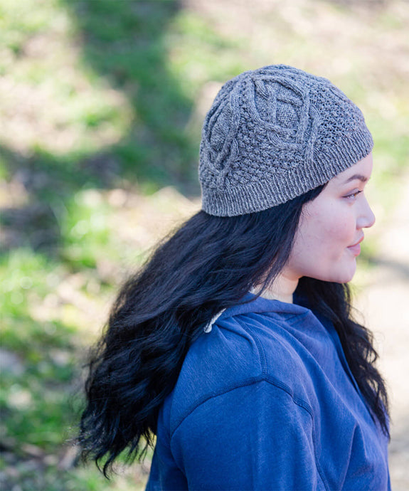 Huck Hat | Knitting Pattern by Norah Gaughan | Brooklyn Tweed - Dapple Yarn