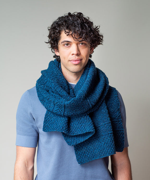 Ludlow Wrap | Knitting Pattern by Julie Hoover | Brooklyn Tweed