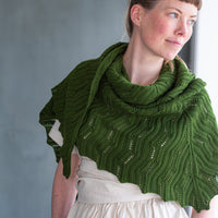 Mugho Shawl | Knitting Pattern by Gudrun Johnston | Brooklyn Tweed