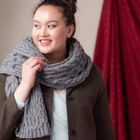 Murre Scarf | Knitting Pattern by Véronik Avery | Brooklyn Tweed