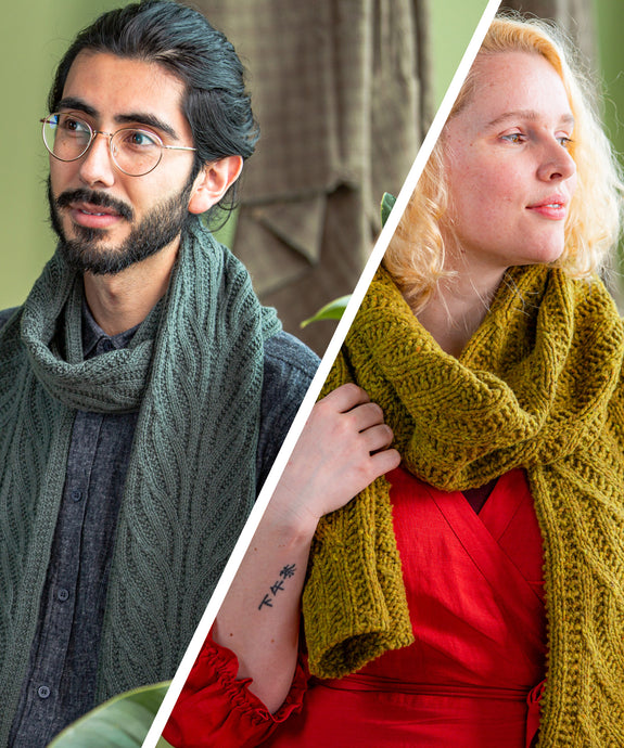 Nidus Scarf | Knitting Pattern by Jared Flood | Brooklyn Tweed