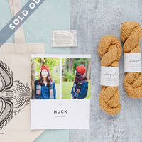 Limited Edition Norah Gaughan Kit - Huck Hat | Brooklyn Tweed - SOLD OUT