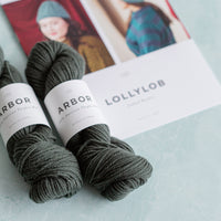 Limited Edition Norah Gaughan Kit - Lollylob Hat | Brooklyn Tweed