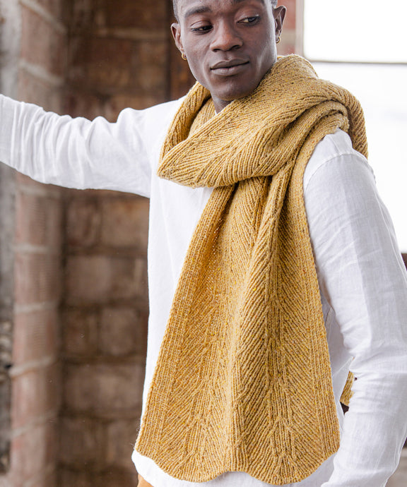 Nourse Scarf | Knitting Pattern by Emily Greene | Brooklyn Tweed