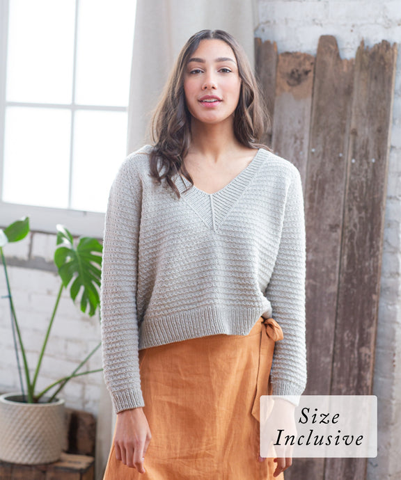 Oheka Pullover | Knitting Pattern by Orlane Sucche | Brooklyn Tweed