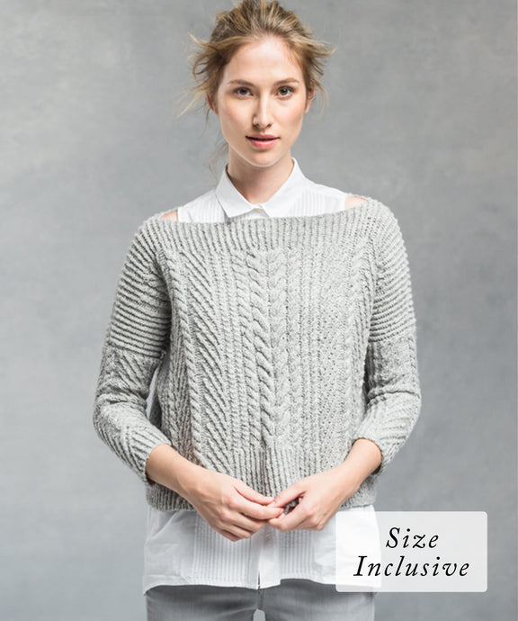Ondawa Pullover | Knitting Pattern by Michele Wang | Brooklyn Tweed