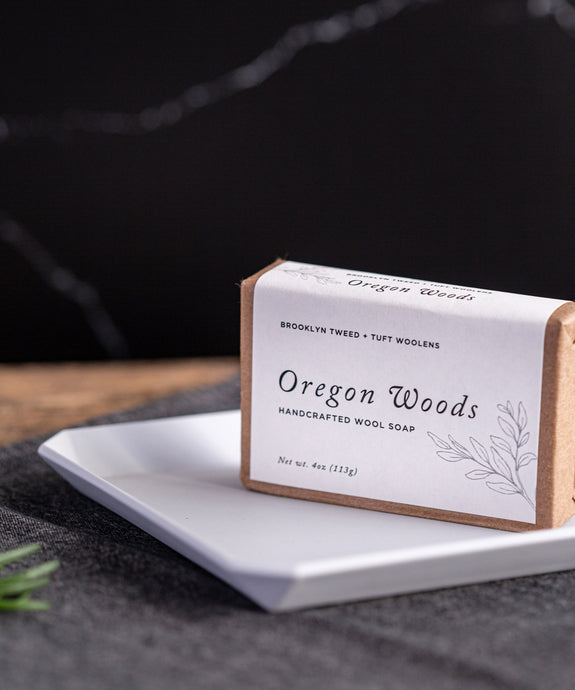 Oregon Woods Scented Wool Soap by Tuft Woolens