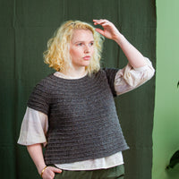 Synthe Pullover | Knitting Pattern by Kjerstin Rossi | Brooklyn Tweed