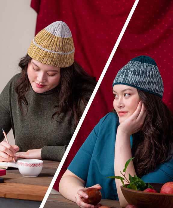 Tamias Hat | Knitting Pattern by Emily Greene | Brooklyn Tweed