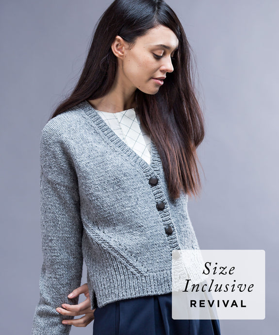 Truss Cardigan | Knitting Pattern by Melissa Wehrle | Brooklyn Tweed