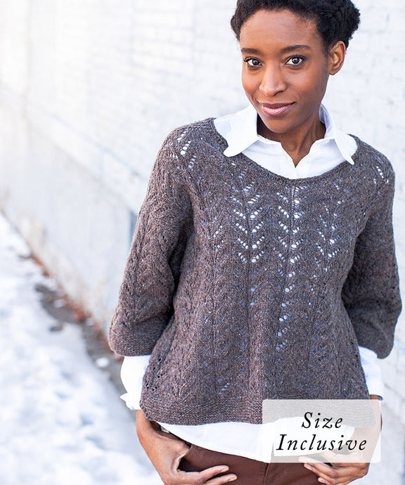 Waterhouse Pullover | Knitting Pattern by Véronik Avery | Brooklyn Tweed