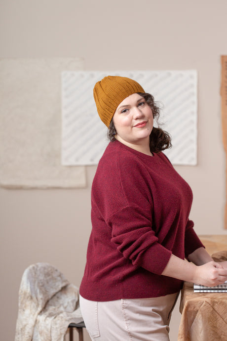 Woodblock Hat | Knitting Pattern by Emily Greene | Brooklyn Tweed