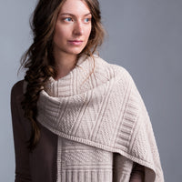Guernsey Wrap Knitting Kit