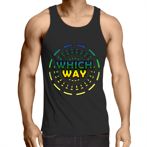 'Whichway' Mens Singlet