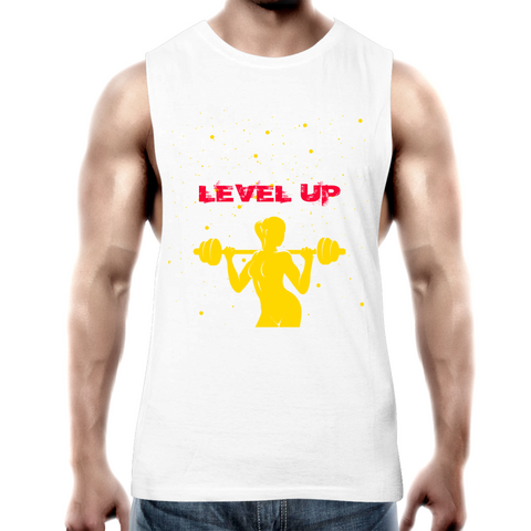 'Level Up' Tank Top Tee
