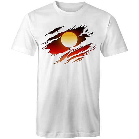 NEW DAWN 'RIPPED EFFECT' T-SHIRT