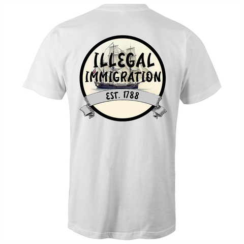 'Illegal Immigration Est. 1788' T-Shirt