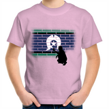 Kids TSI 'Brick Effect' T-Shirt