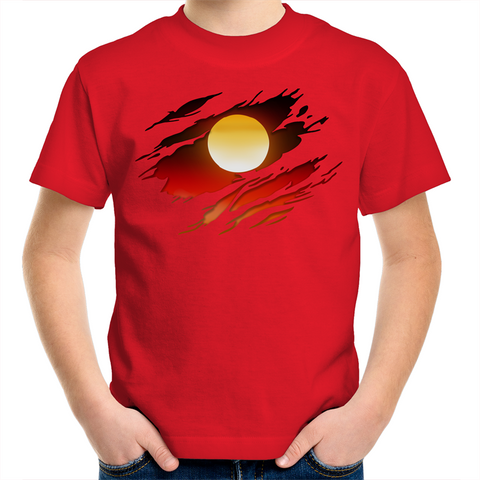 KIDS NEW DAWN 'RIPPED EFFECT' T-SHIRT