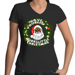 'Have Yourself A Murri Little Christmas' V-Neck T-Shirt