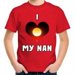 New Dawn 'I Love My Nan' Kids T-Shirt