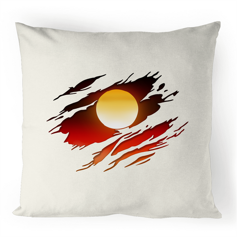 NEW DAWN 'RIPPED EFFECT' CUSHION COVER