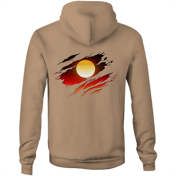 New Dawn 'Deadly Ripped Effect' Hoodie