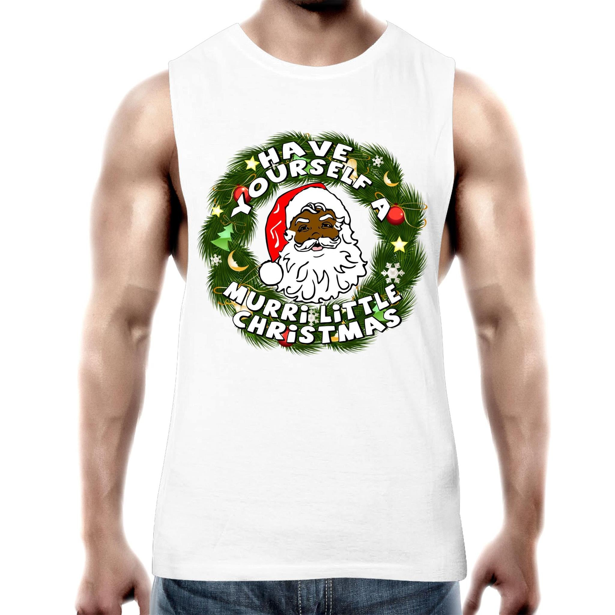 'Have Yourself A Murri Little Christmas' Tank Top Tee
